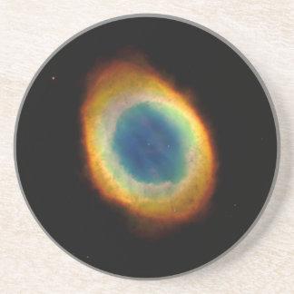 Nebulosa del anillo telescopio de Hubble Posavasos Diseño