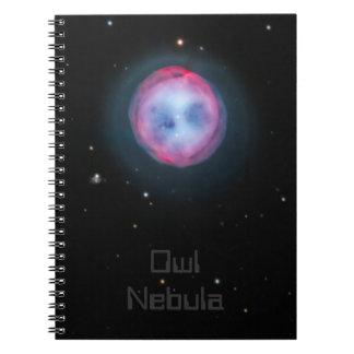 Nebulosa del búho libreta