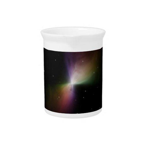 Nebulosa del bumerán jarra para bebida