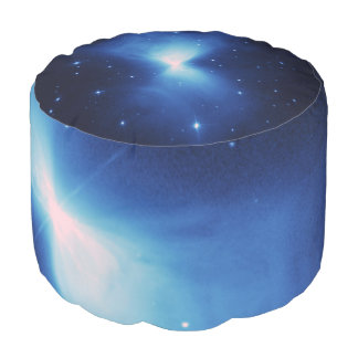 Nebulosa del bumerán puf redondo