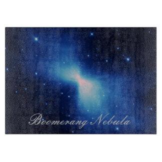 Nebulosa del bumerán tablas para cortar