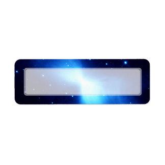 Nebulosa del bumerán (telescopio de Hubble) Etiquetas De Remite