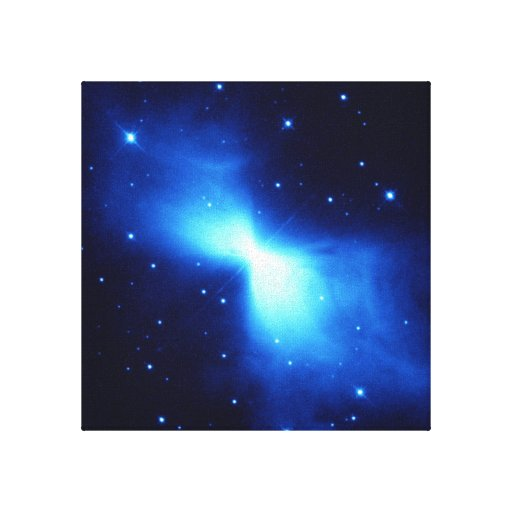 Nebulosa del bumerán (telescopio de Hubble) Lona Envuelta Para Galerías