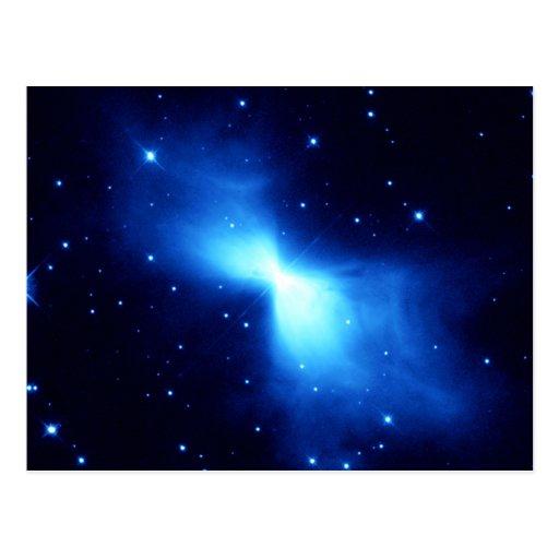 Nebulosa del bumerán (telescopio de Hubble) Postales
