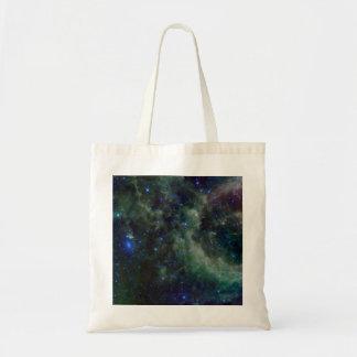 Nebulosa del Cassiopeia dentro de la galaxia de la Bolsas Lienzo