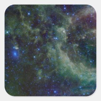 Nebulosa del Cassiopeia dentro de la galaxia de la Pegatina Cuadrada