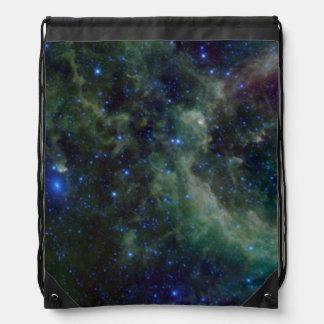 Nebulosa del Cassiopeia dentro de la galaxia de la Mochilas