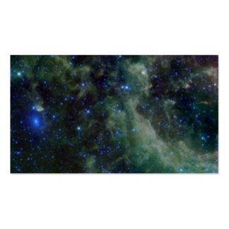 Nebulosa del Cassiopeia dentro de la galaxia de la Tarjetas De Visita