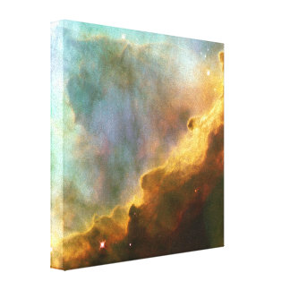 Nebulosa del cisne impresión en lienzo