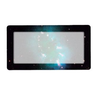 Nebulosa del collar telescopio de Hubble Etiqueta De Envío