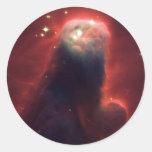 Nebulosa del cono NGC2264 Pegatina Redonda