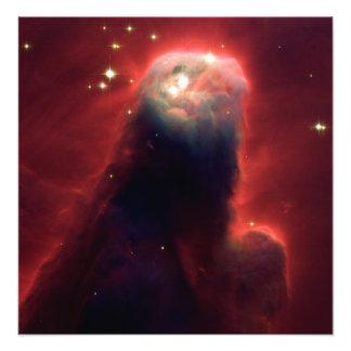 Nebulosa del cono (telescopio de Hubble) Fotografía