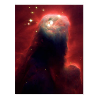 Nebulosa del cono (telescopio de Hubble) Postal