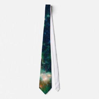 Nebulosa del corazón y del alma corbata personalizada