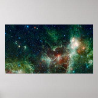 Nebulosa del corazón y del alma póster