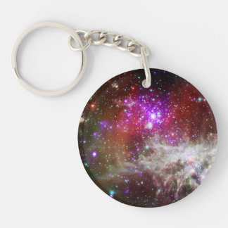 Nebulosa del cúmulo de estrellas NGC 281 Pacman Llavero