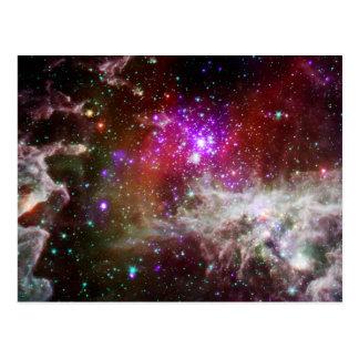 Nebulosa del cúmulo de estrellas NGC 281 Pacman Postales