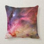 Nebulosa del espacio cojin