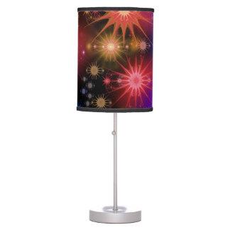Nebulosa del espacio lámpara de mesa