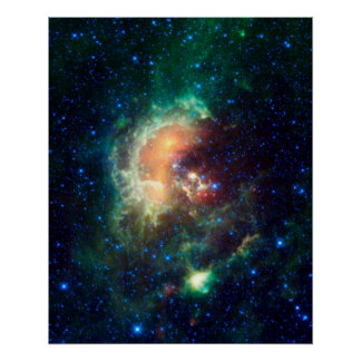 Nebulosa del espacio posters