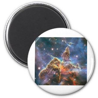 Nebulosa del espacio profundo de la imagen de Hubb Imán Redondo 5 Cm