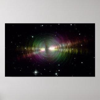 Nebulosa del huevo de NASAs Poster