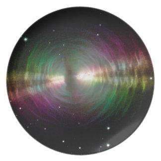 Nebulosa del huevo - espacio, estrellas, galaxia plato de cena