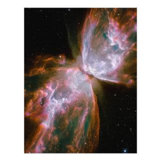 Nebulosa del insecto, nebulosa de la mariposa, NGC Flyer A Todo Color