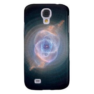 Nebulosa del ojo de gato funda para galaxy s4