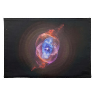 Nebulosa del ojo de gato - Hubble/Chandra Mantel
