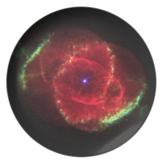 Nebulosa del ojo de gato platos