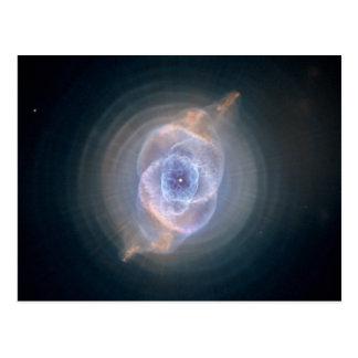 Nebulosa del ojo de gato postal