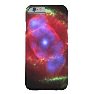 Nebulosa del ojo de gatos funda para iPhone 6 barely there