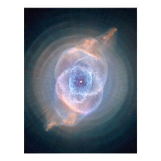 Nebulosa del ojo de gatos anuncio personalizado