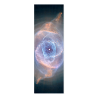 Nebulosa del ojo de gatos tarjetas de negocios