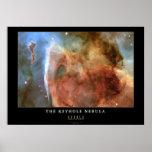 Nebulosa del ojo de la cerradura impresiones