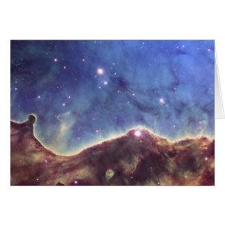 Nebulosa del ojo de la cerradura NGC3324 en Carina Tarjeta De Felicitación