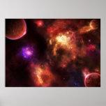 Nebulosa del pulsar impresiones