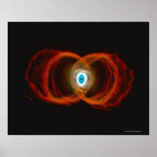 Nebulosa del reloj de arena impresiones