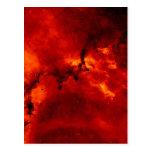 Nebulosa del rosetón tarjetas postales