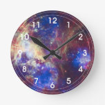 Nebulosa del Tarantula - 30 Doradus Reloj Redondo Mediano