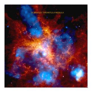 Nebulosa del Tarantula Invitación Personalizada