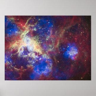 Nebulosa del Tarantula Impresiones