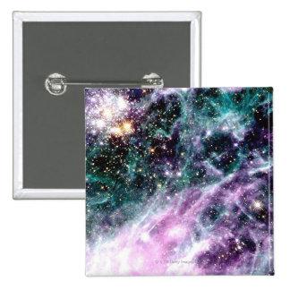Nebulosa del Tarantula Pin Cuadrado