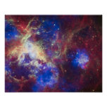 Nebulosa del Tarantula Póster