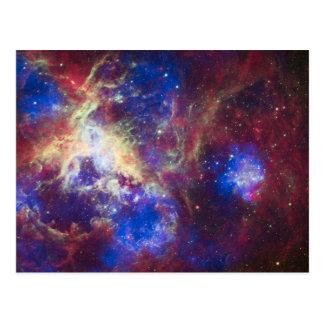 Nebulosa del Tarantula Tarjetas Postales