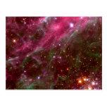 Nebulosa del Tarantula (telescopio de Hubble) Tarjeta Postal