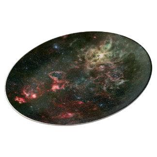 Nebulosa del Tarantula y sus alrededores Platos De Cerámica