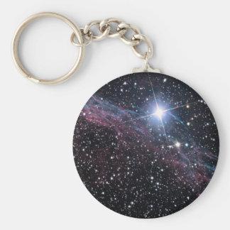 Nebulosa del velo llavero personalizado