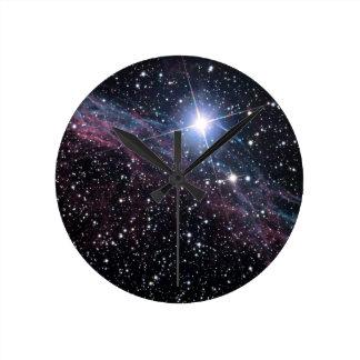 Nebulosa del velo relojes de pared